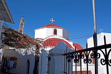 Church of Panagia in Lindos, Rhodes 2010.jpg