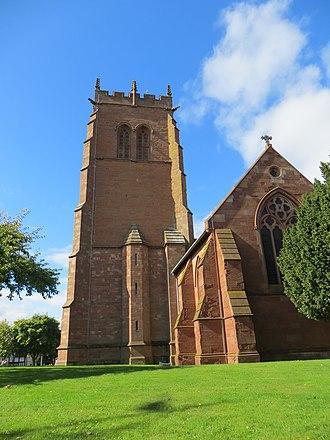 Listed buildings in Bridgnorth - Image: Church of St. Leonard, Bridgnorth 06