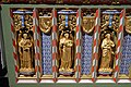 Church of St Andrew, Nuthurst, West Sussex - chancel altar table niches, left.jpg