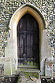 Church of St Mary Matching Essex England - north transept north door portal.jpg