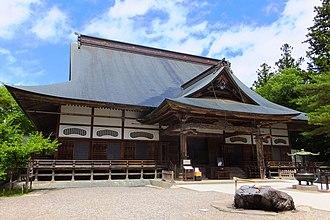 Chūson-ji - Image: Chuson ji Hondo 201806