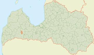 Ciecere Parish parish of Latvia in Brocēni Municipality
