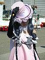 Ciel Phantomhive in pink dress cosplayer at 2010 NCCBF 2010-04-18 2.JPG