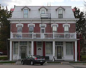 Cimarron, Kansas - Historic 1886 Cimarron Hotel