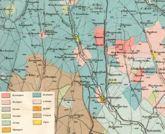 Cimișlia District - Cimişlia in 1907