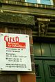CircO - Netzwerk für ZirkusKünste e.V., Badenstedter Straße 35, 30449 Hannover-Linden Büorzeiten Mo.-Fr. 9.00 - 11.00 Uhr Telefon Adressschild vor dem Diskuswerfer.jpg