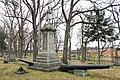 Civil War Memorial, 1897, Oak Grove Cemetery, East Middle Street, Chelsea, Michigan - panoramio.jpg