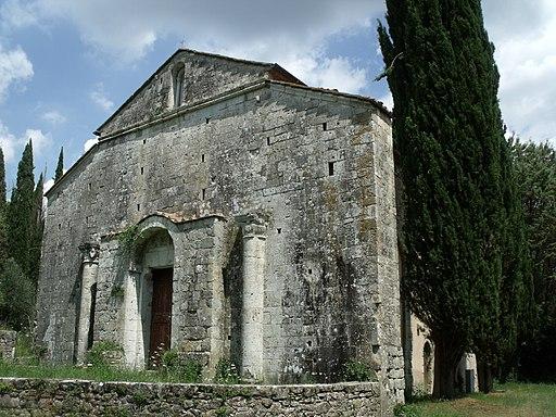 Civitella Marittima, Abbazia di San Lorenzo al Lanzo