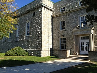University at Buffalo - Clark Hall on UB's South Campus