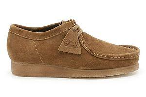 Suede - Suede shoe by Clark's