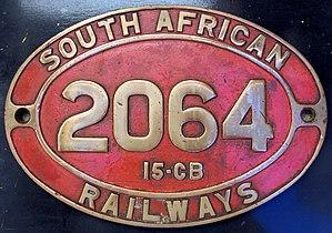South African Class 15C 4-8-2 - Image: Class 15CB no. 2064 ID