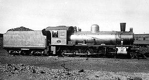South African Class 8D 4-8-0 - Image: Class 8D no. 1197