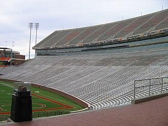 Memorial Stadium (Clemson) - Image: Clemson Memorial Stadium 2