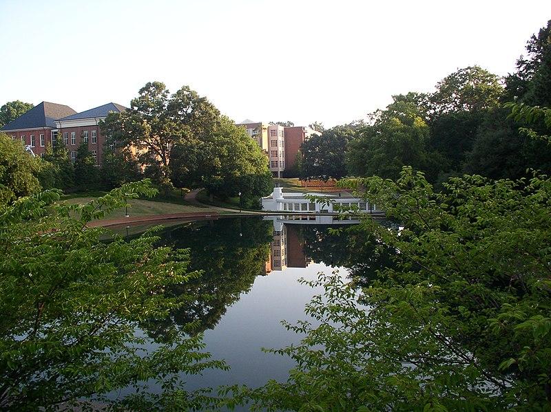 File:Clemson reflecting pond.jpg