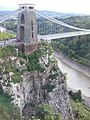 Clifton Suspension Bridge, Eastern End - geograph.org.uk - 1514841.jpg