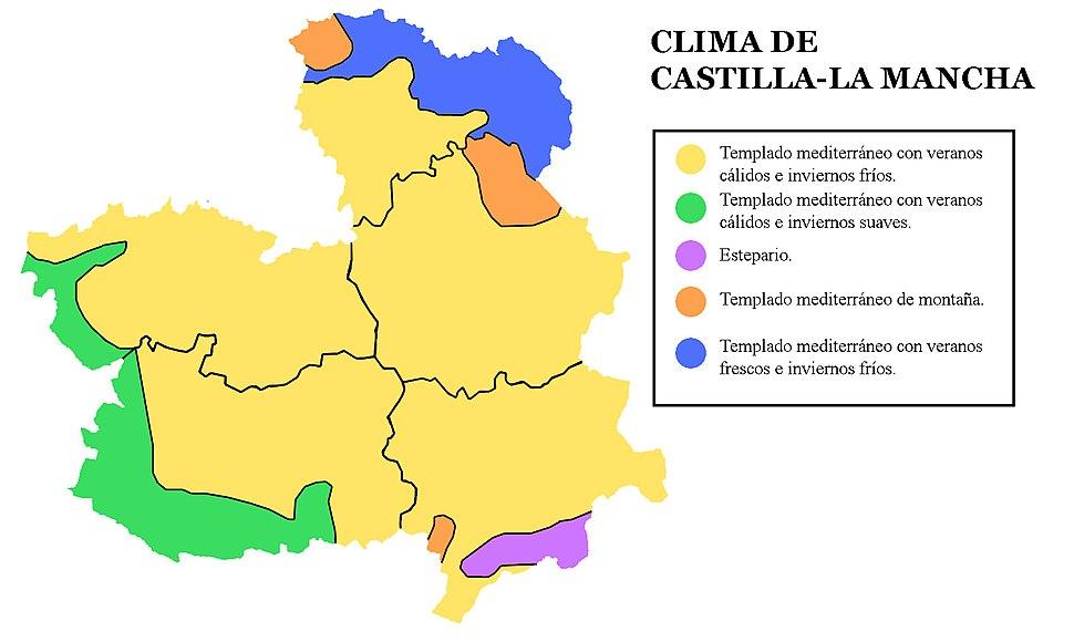 Clima Castilla-La Mancha
