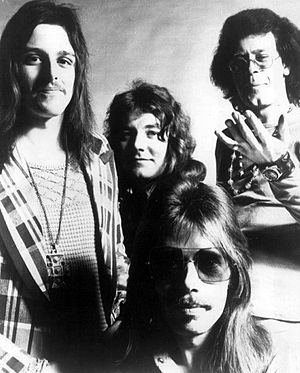 Climax Blues Band - The band in 1974