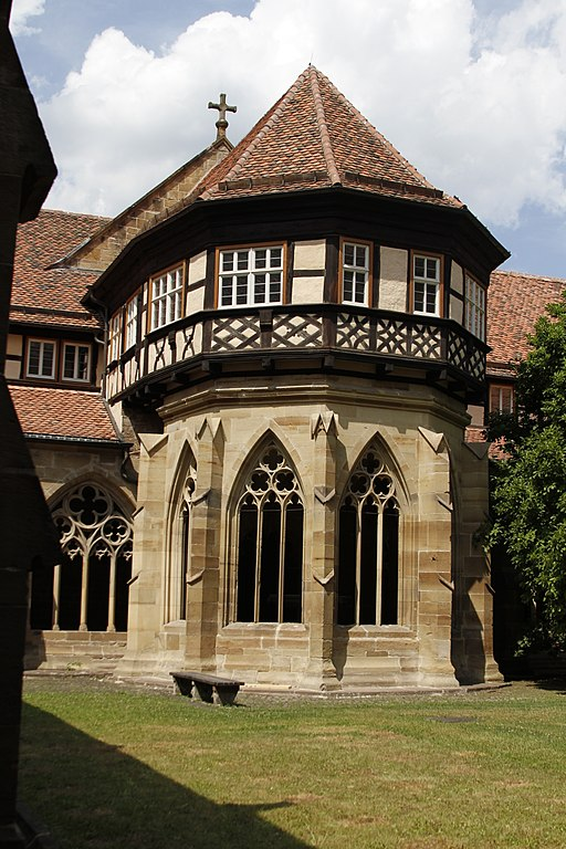 Cloister garden - Maulbronn Monastery - Maulbronn - Germany 2017