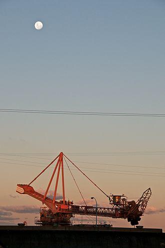 Hunter Valley Coal Chain - Coal loader at Port Waratah, Newcastle