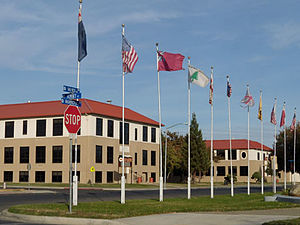 Coalinga, California - Coalinga High School.