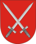 Coat of Arms of Jelsk, Belarus.png