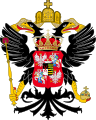 Coat of arms of Augustus III of Poland as vicar of the Holy Roman Empire.svg