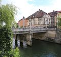Cobblers' Bridge over Ljubljanica river, Ljubljana Slovenia - 2017-05-02.jpg
