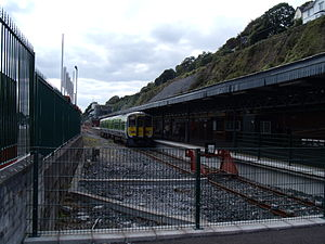 IE 2600 Class - 2607 at Cobh