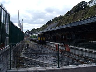 Cobh railway station - Image: Cobh Station August 2011