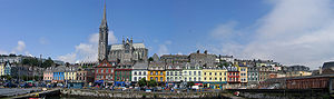 The waterfront at Cobh