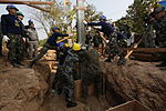 Cobra Gold participants raise pillars, commence humanitarian civic assistance 140125-M-LT992-078.jpg