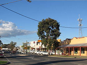 La grand rue de Cobram