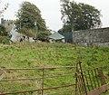 Collapsed farm building, Llanfrechfa - geograph.org.uk - 1634451.jpg