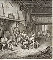 Collection de cent-vingt estampes, gravée d'après les tableaux and dessins qui composoient le cabinet de m. Poullain précédée d'un abrégé historique de la vie des auteurs qui la composent Cette suite (14778489142).jpg