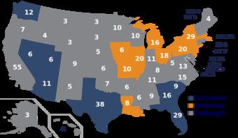carte présidentielle france 2020 Élection présidentielle américaine de 2020 — Wikipédia