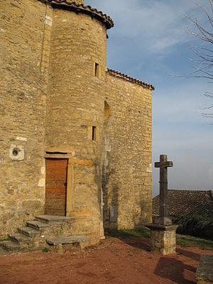 Collonges-au-Mont-d'Or - Image: Collonges au Mont d'Or Eglise Saint Nizier (69) 2