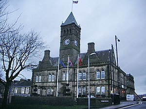 Colne - Colne Town Hall