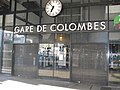 Colombes station closed because of SNCF strikes.jpg