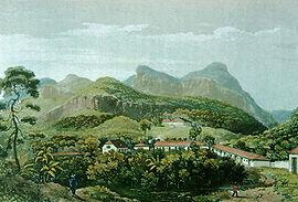 Nova Friburgo durante sua colonização 1820-1830.