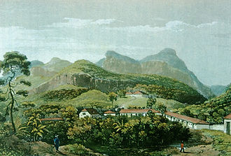 Nova Friburgo - Nova Friburgo during Swiss and German settlement, 1820–1830.