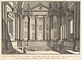 Colonnaded hall according to the custom of the ancient Romans, and niches adorned with statues (Sala all'uso degli antichi Romani con Colonne, e nicchie ornate di Statue) MET DP827990.jpg