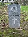 Commonwealth War Grave in Jarrow Cemetery (WW1-32) - geograph.org.uk - 1604094.jpg