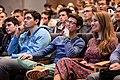 Conférence à l'Ecole polytechnique en amphi Becquerel Crédit photographique - © École polytechnique - J.Barande (34278840815).jpg