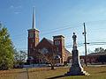 Confederate Park & Methodist Church Nov 2013 2.jpg