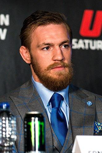 UFC 205 - Image: Conor Mc Gregor, UFC 189 World Tour London