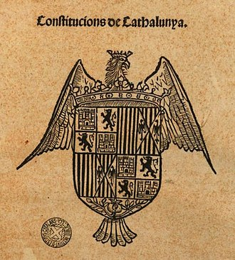 Catalan constitutions - Compilation of 1493