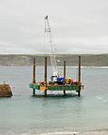 Construction rig at Sennen Cove.jpg