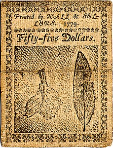 Continental Currency $55 banknote reverse (January 14, 1779).jpg