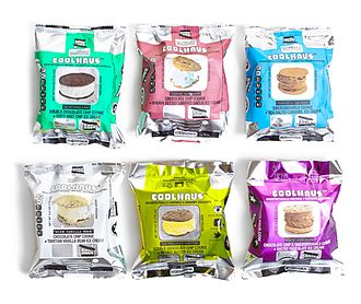 Coolhaus - Assorted flavors of Coolhaus prepackaged sammies
