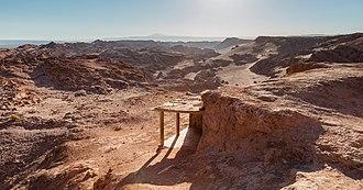 Valle de la Luna (Chile) - Image: Cordillera de la Sal, San Pedro de Atacama, Chile, 2016 01 31, DD 01